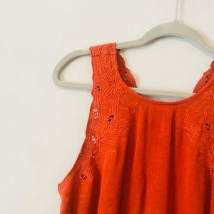 Lush Tops - Lush Orange Tank